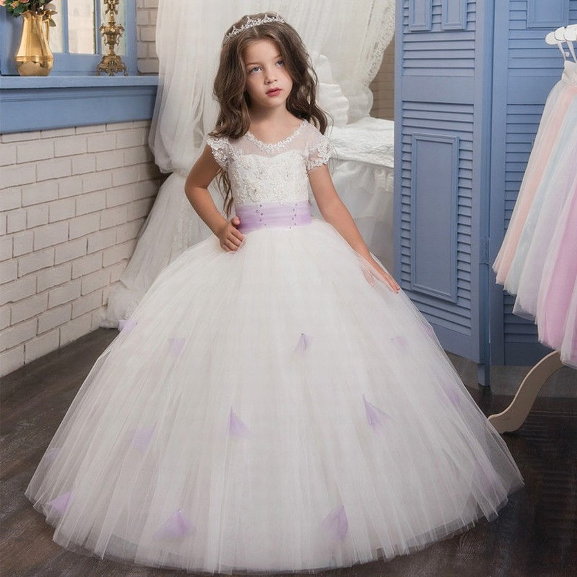 Communion Party Prom Princess Pageant Bridesmaid Wedding Flower Girl Dress KIDS