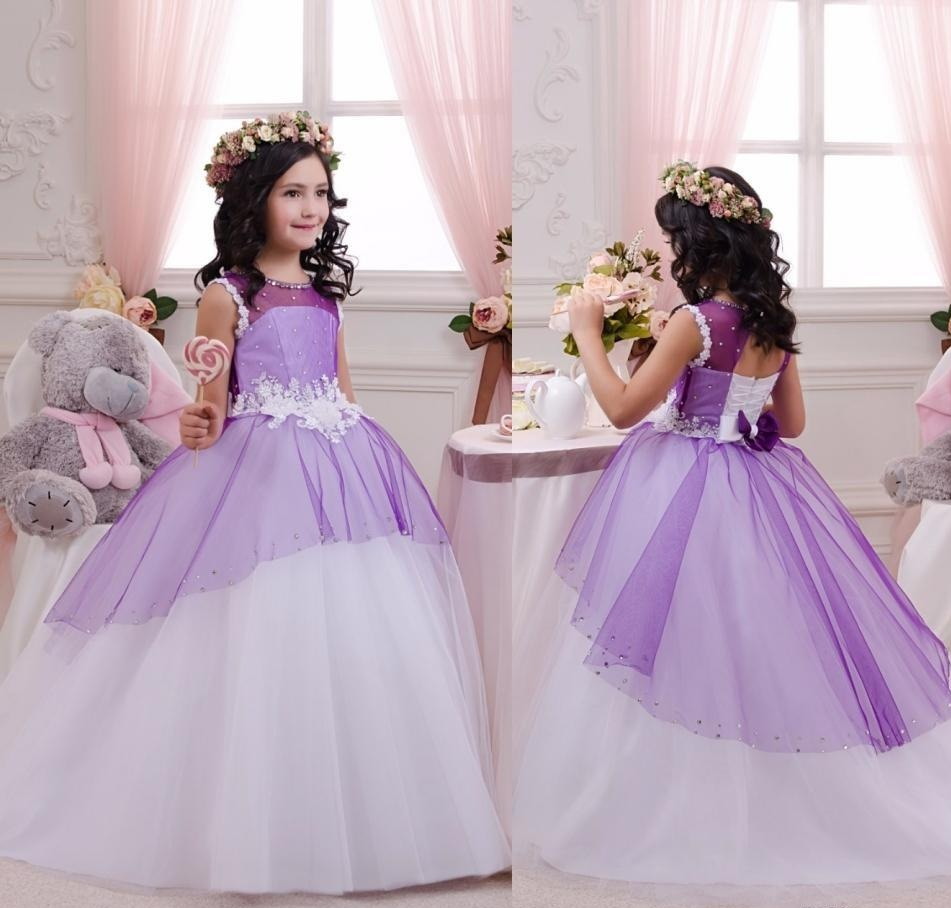 Charming Girls Pageant Formal Ball Gown 69a0aebbe3cf