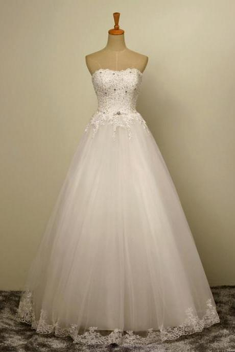 HS359 Sleeveless Strapless sweetheart
